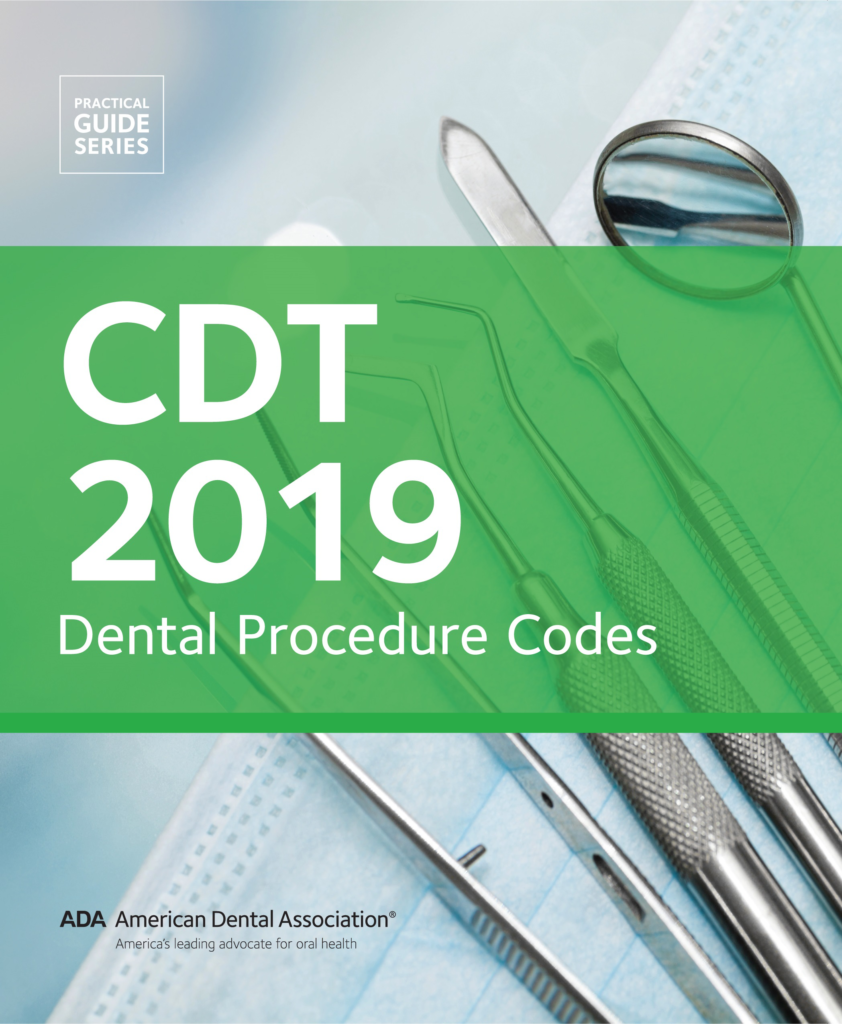 CDT 2019 Dental Procedure Codes