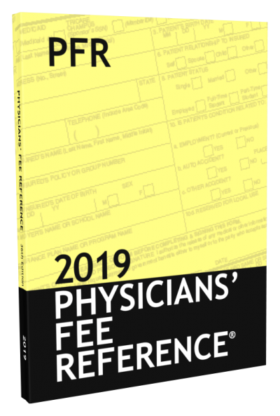 Physician Fee Reference Book 2019